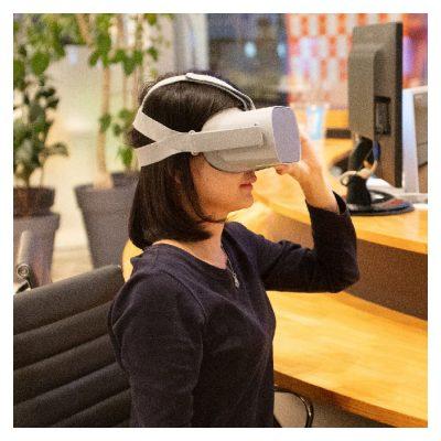 VR体験イメージ